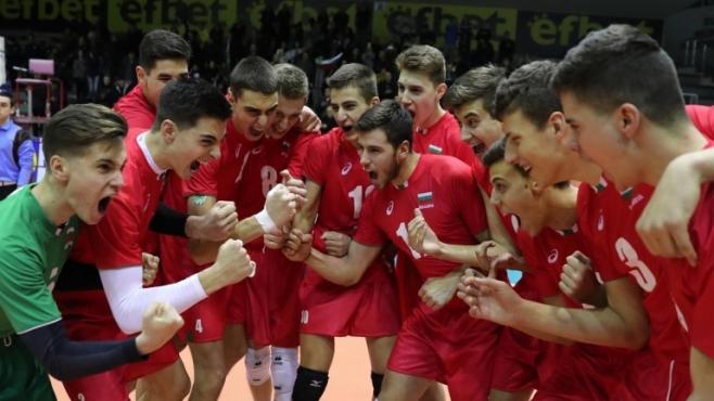 България U18 без грешка срещу Швеция (статистика, обновено)