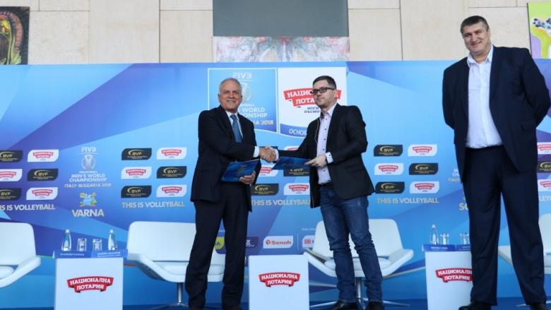 Рекорден договор на волейболната федерация със спонсор за Световното