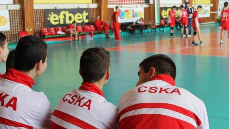 ЦСКА водач при момчетата U15 в София