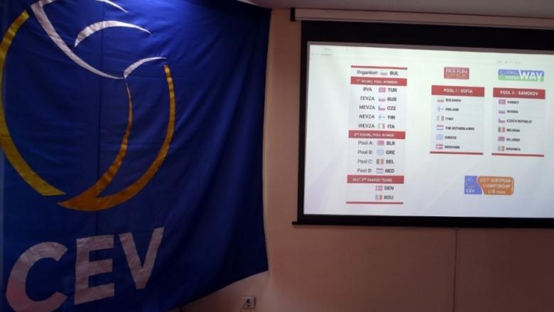 Гледай на живо в Sportmedia.tv жребия за Европейското първенство U17