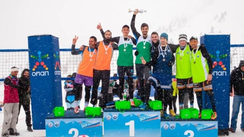 Гърция короняса първите си шампиони на снега