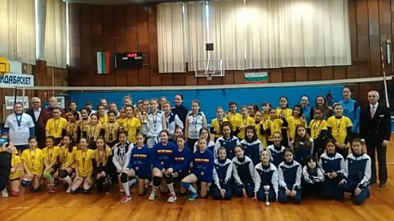 Румънки спечелиха турнир за момичета U12 във Видин