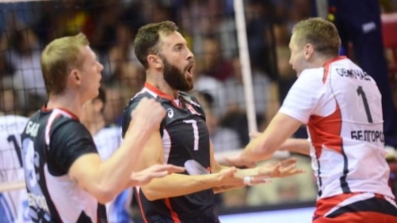 Гледай на живо с BGvolleyball.com Ники Николов в полуфиналите на Купата на ЦЕВ
