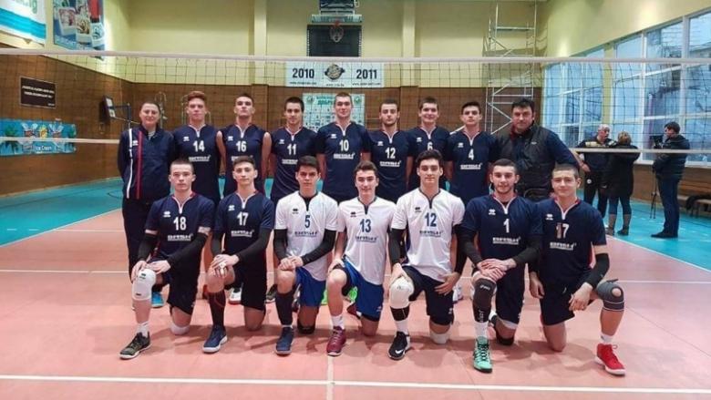 Волейболисти U20 на Черно море на силен турнир в Италия