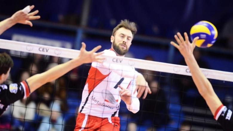 Ники Николов и Белогорие на крачка от финал за Купата на ЦЕВ