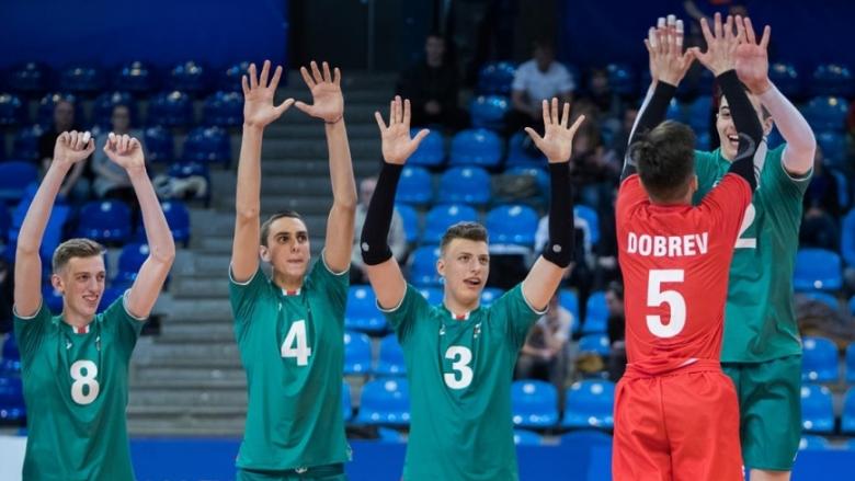 България U18 завърши с победа в групата на Евроволей (статистика, обновено)