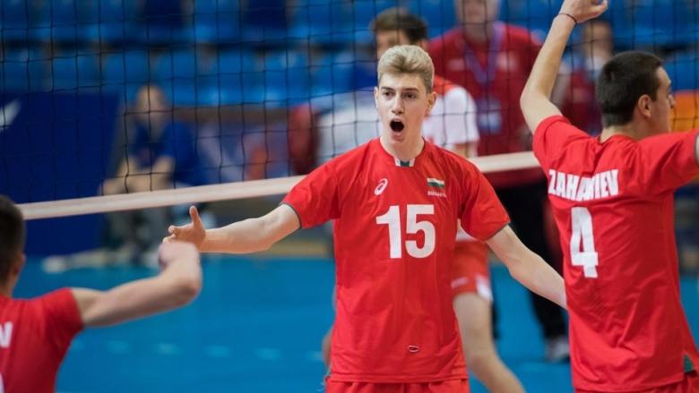 България U18 продължава във втората четворка на Евроволей