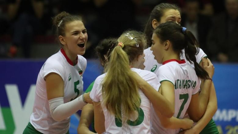 България срещу Беларус на Евроволей U17