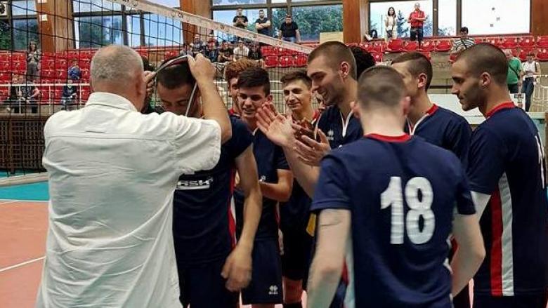 Волейболист на Варна MVP на държавните финали U20