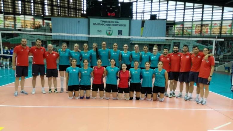 Волейболистките на България с втора категорична победа над Словения