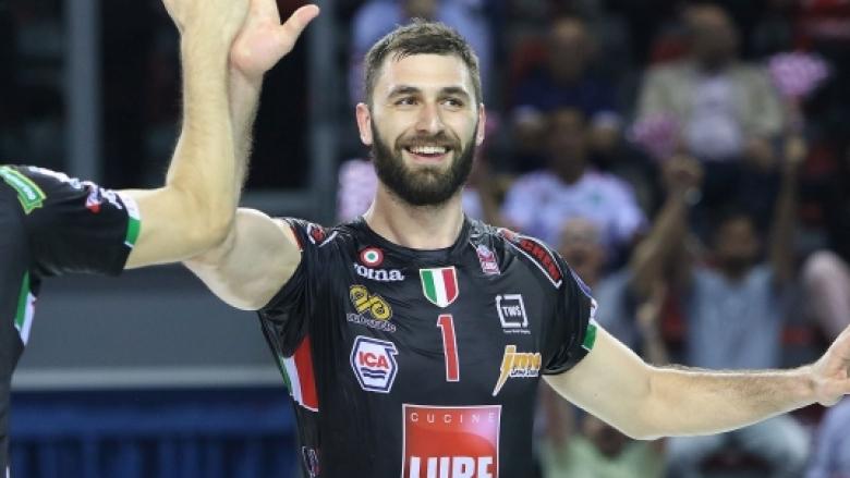 Официално: Соколов продължава с Лубе до 2021 година