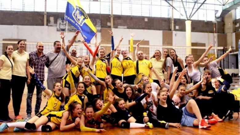 Марица шампион при момичетата U15