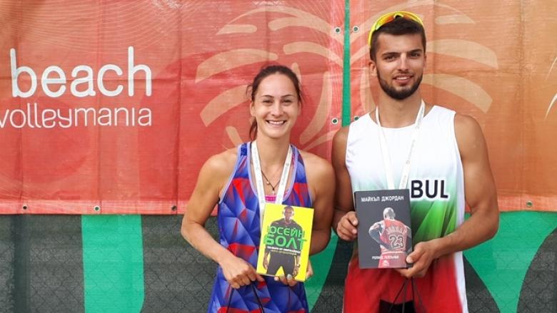 Николова и Христов шампиони при смесените двойки на Beach Volley Mania