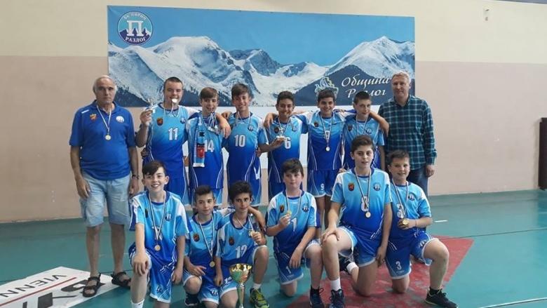 Пирин спечели титлата при момчетата U13