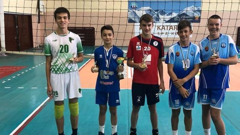 Волейболист на Пирин MVP на държавните финали за момчета U13
