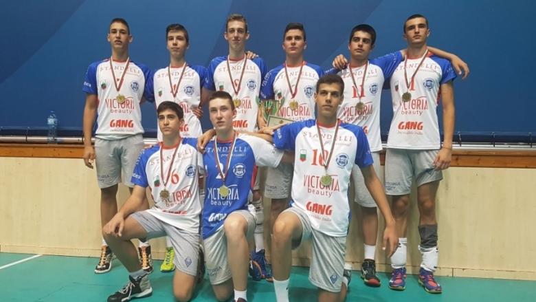 Волейболисти от Пловдив ученически шампиони за 8-10 клас