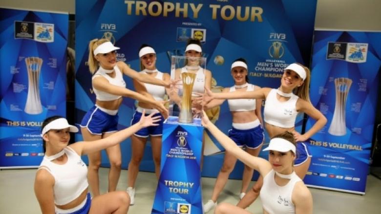 Световната купа по волейбол тръгва на турне