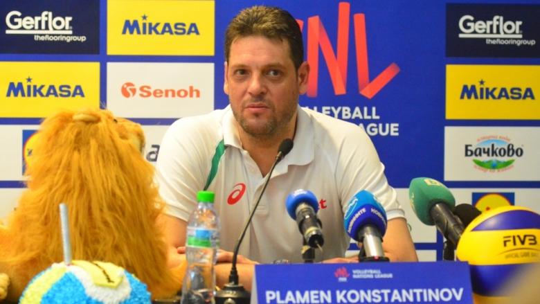 Пламен Константинов: Лигата на нациите трябва да е турнир за изгряващи звезди