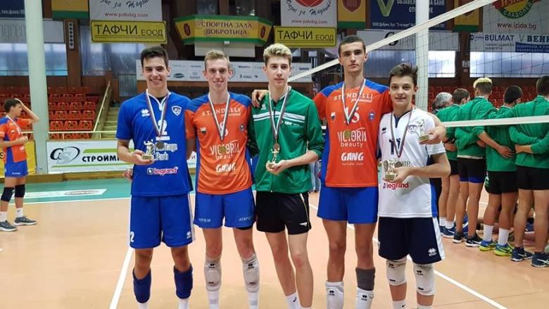 Волейболист на Левски MVP на Държавните финали U17