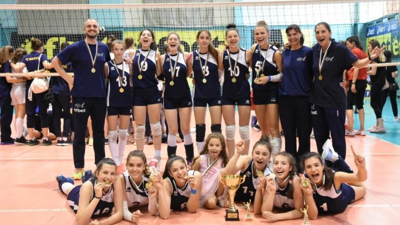 Волейболистките на Левски шампион за девойки U17