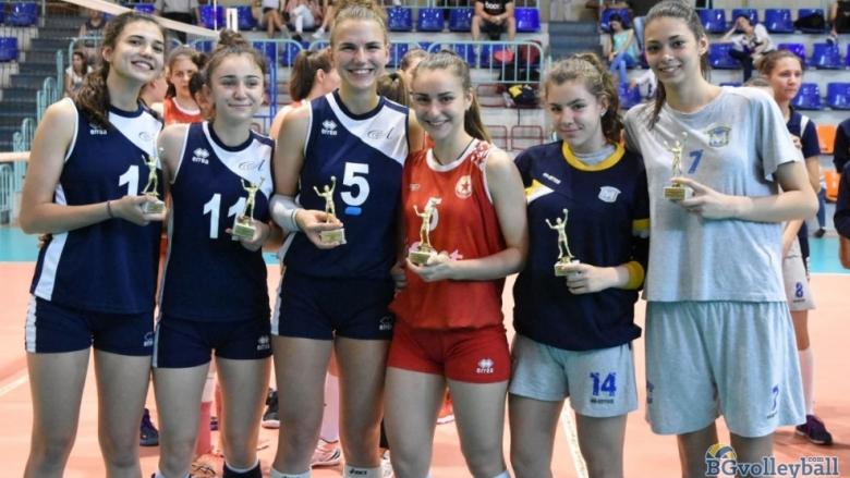 Волейболистка на Левски MVP при девойките U17