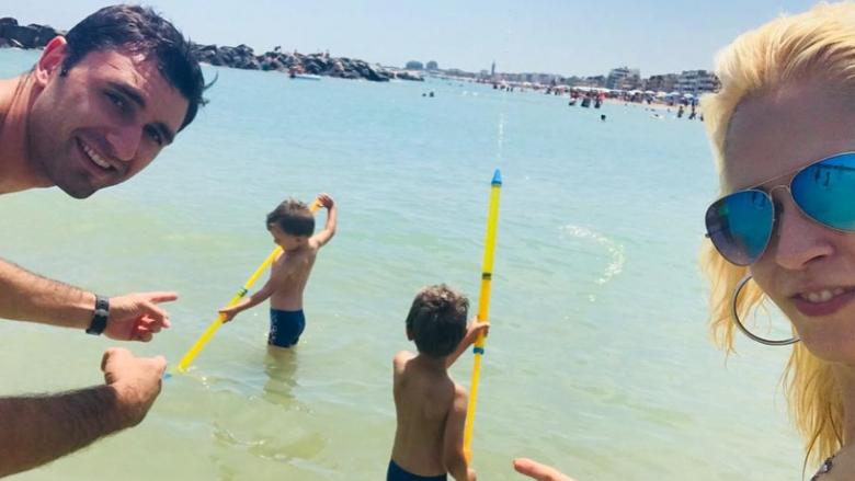 Соколов се отдаде на летни забавления (снимки + видео)
