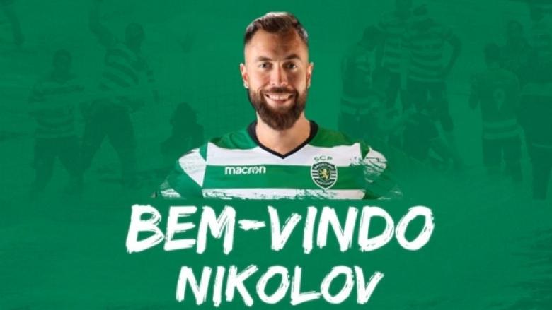 Спортинг представи Николай Николов