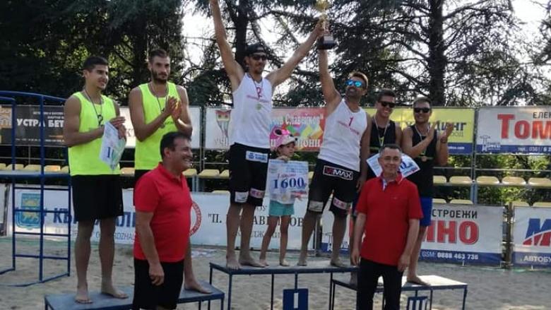 Колев & Митев плажни шампиони на България