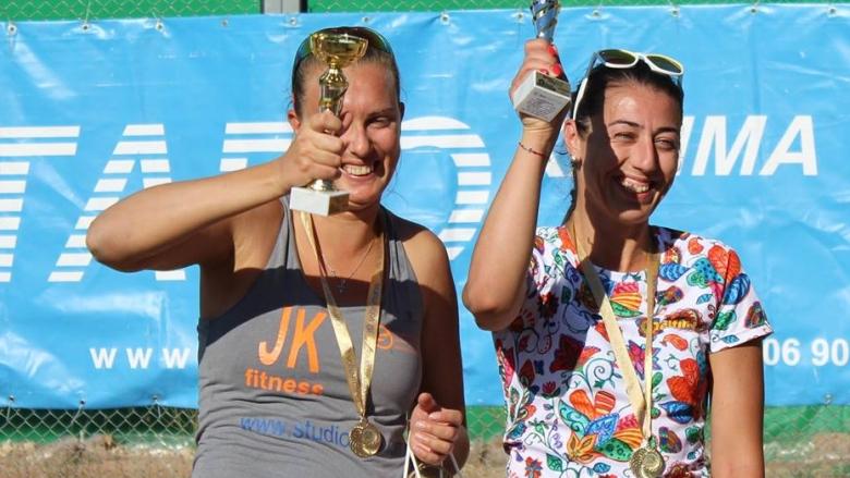 Динова & Мишонова триумфираха на турнира в Пловдив