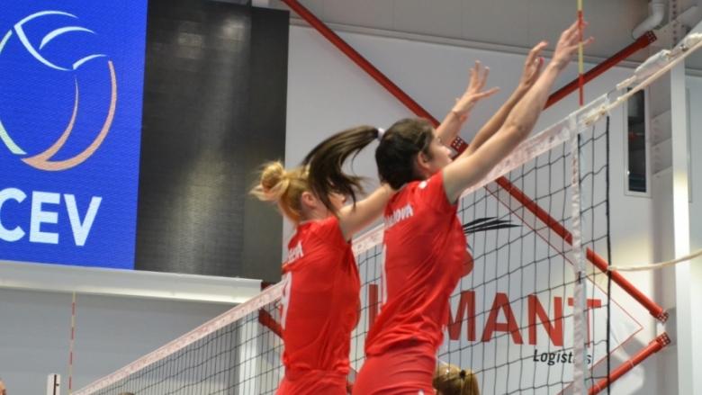 Волейболистките U19 с втора загуба на европейското