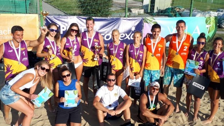 Tорбов и Тренчев стъпиха на върха в шампионския турнир от Beach Volley Mania