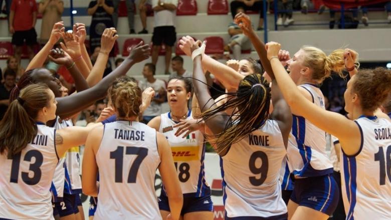 Италия еврошампион при девойките U19