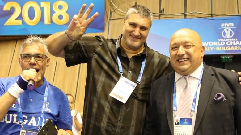Любо Ганев и кметът Пламен Стоилов откриват световното в Русе