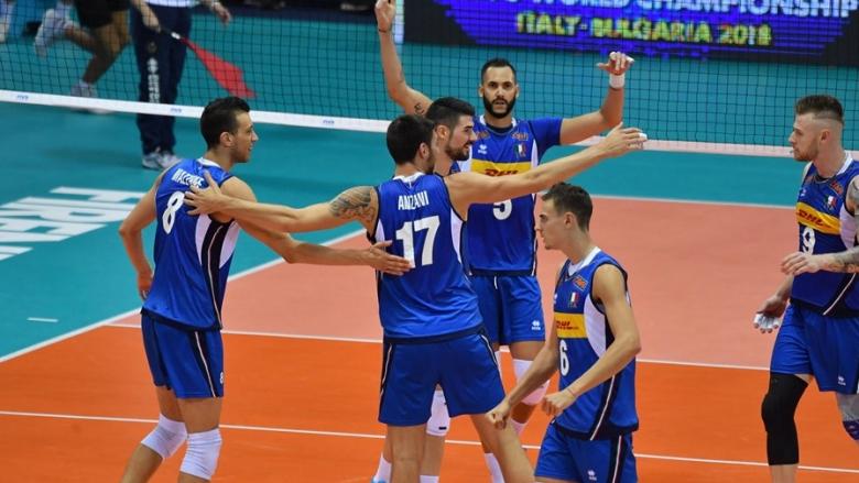 Италия помете Белгия