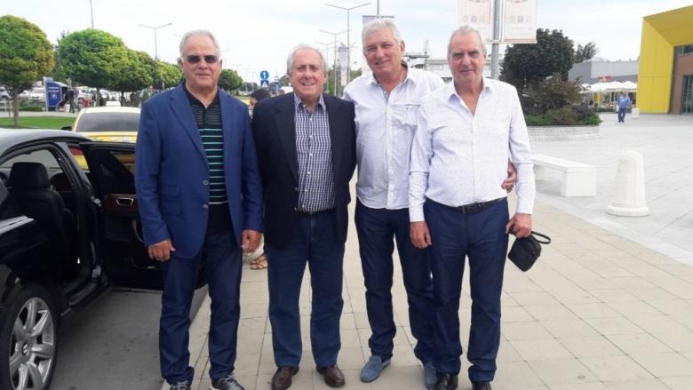 Президентът на международната федерация пристигна във Варна