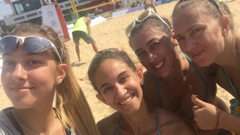 Български двойки на полуфинали на плажната Балканиада