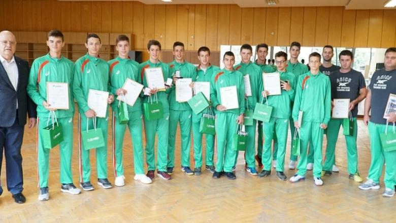 Националите U17 със специална награда за балканската купа
