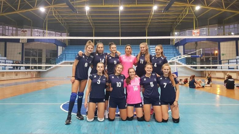 Девойките на ЦПВК първенец на турнир в Сърбия