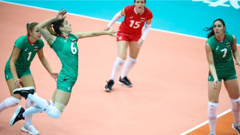 Фотогалерия от победата на България над Тайланд