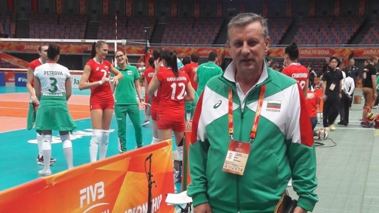 Любомир Герасимов: Имаме потенциал да влезем сред най-добрите осем в света