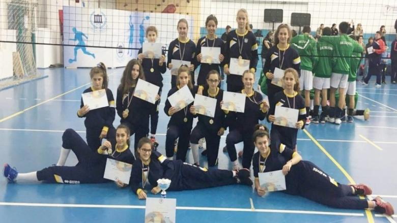 Марица U13 спечели турнир за 15-годишни без загубен гейм