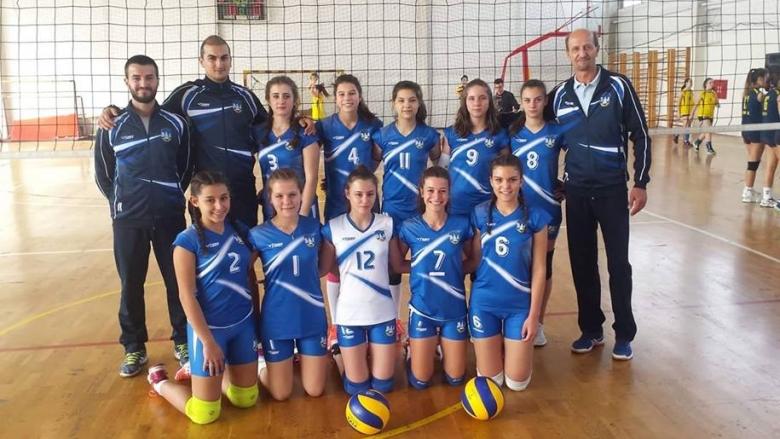 Волейболистки на Горна Малина дебютираха извън България