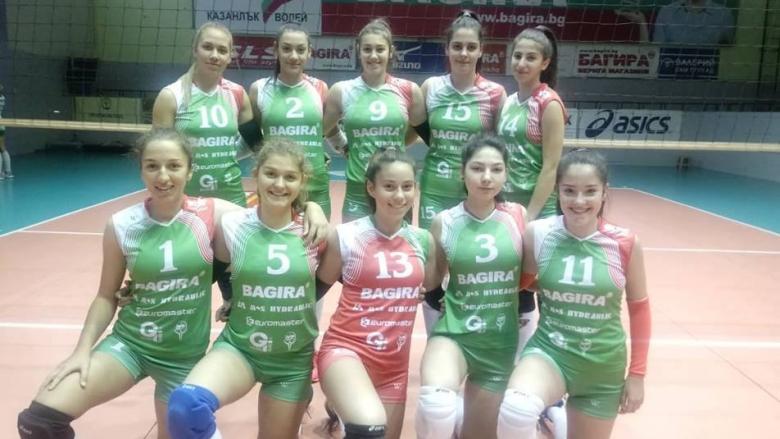 Волейболистките на Казанлък U17 първенец в регион Странджа
