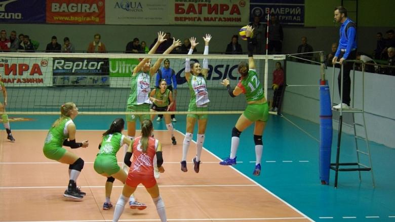Снимки от двубоите Казанлък - Берое и Перун - ЦСКА в НВЛ-жени