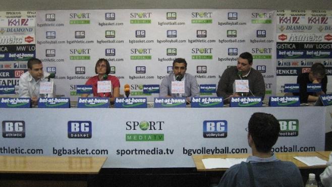 Пет нови спортни медии бяха представени днес
