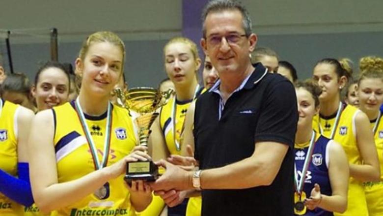 Волейболистка на Марица в колежанското първенство