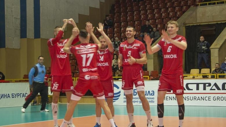 Българският срещу норвежкия шампион на 1/8-финалите на Купата на ЦЕВ