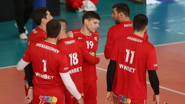 ЦСКА продължава победната си серия в Суперлигата