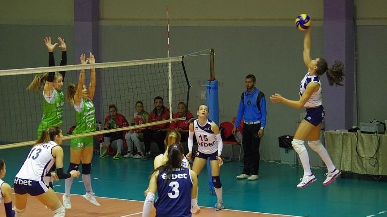 Левски с трета победа в НВЛ-жени