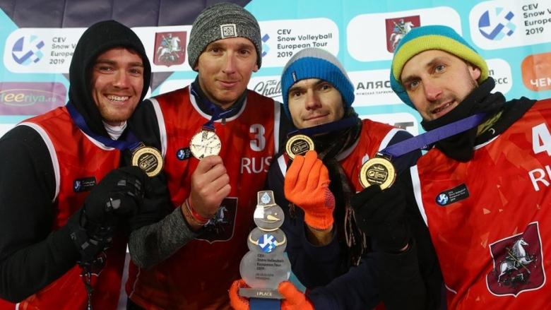 Руско-американски триумф на снега в Москва